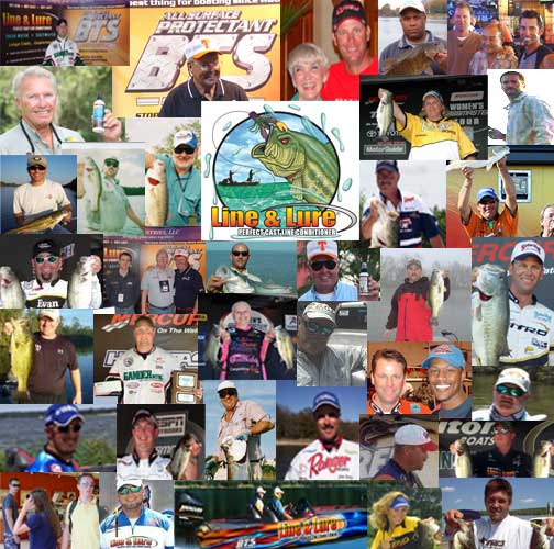 Line & Lure Prostaff Collage